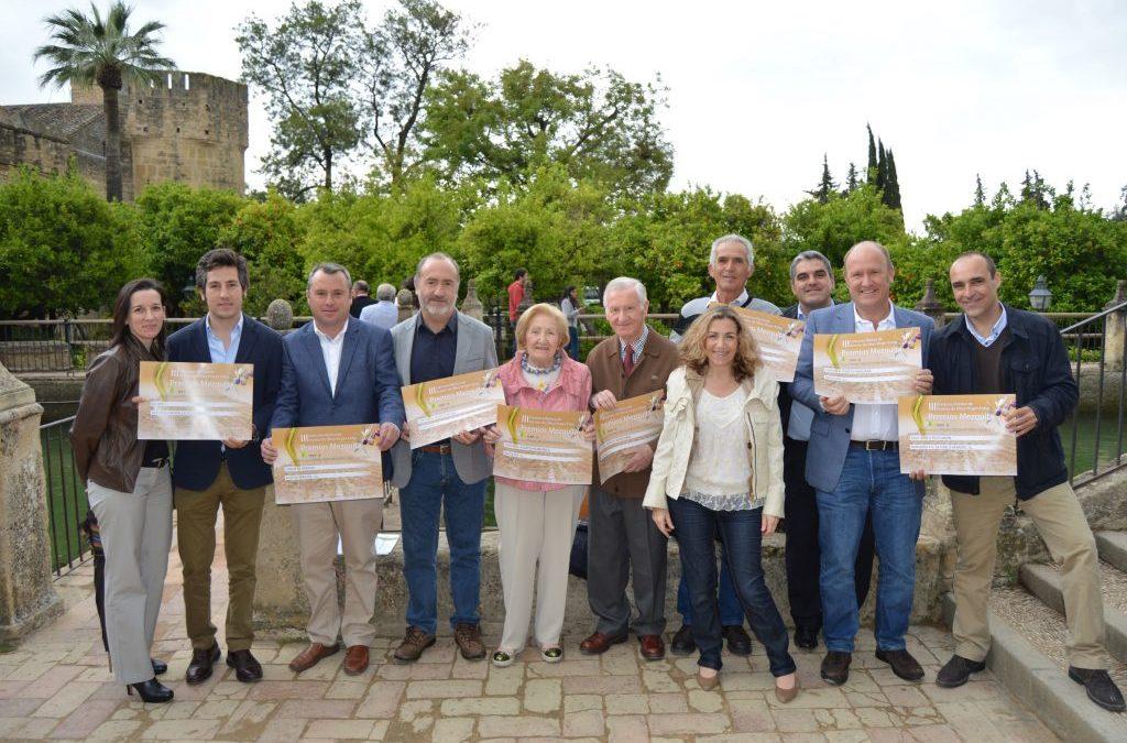 Entrega de los Premios Mezquita 2016 a los AOVEs de Cortijo el Puerto
