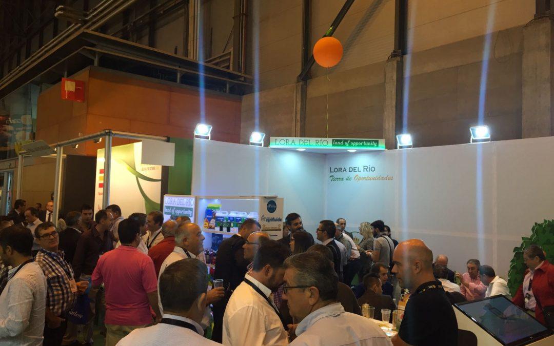 En Fruit Atracttion 2016 con los productos de Lora del Río