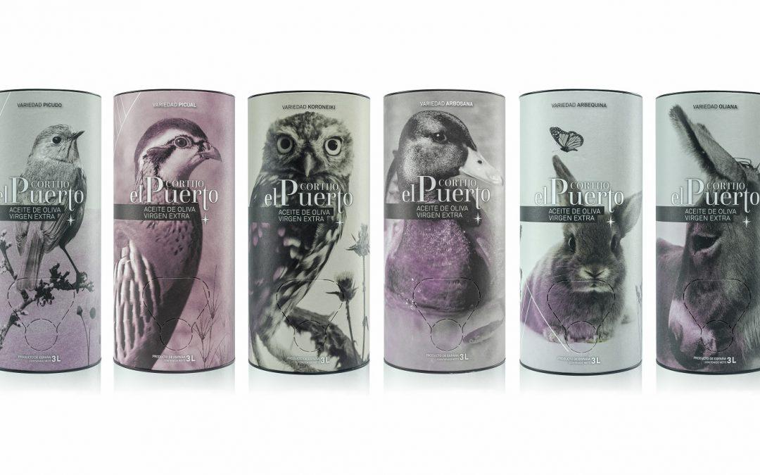 Cortijo el Puerto presenta su Colección Granja de AOVE en un económico Bag in Tube de 3 litros.