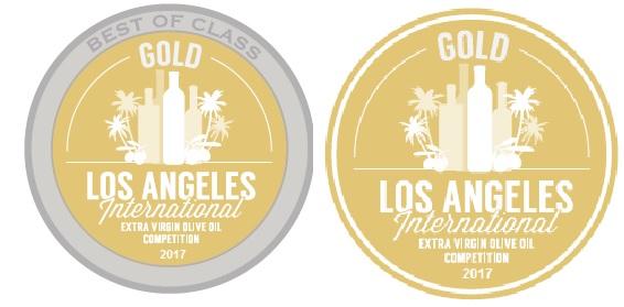 Seis medallas en la Competición Internacional de Aceite de Oliva Virgen Extra de Los Angeles, Estados Unidos.