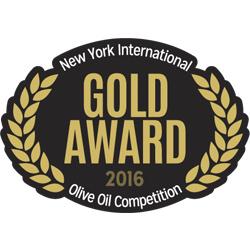 NYIOOC 2016 Cortijo el Puerto Hojiblanca, Gold Medal