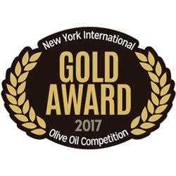 NYIOOC 2017 Cortijo el Puerto Picual, Gold Medal