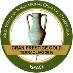 TERRAOLIVO 2016 Cortijo el Puerto Picual, Prestige Gold