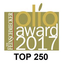 DER FEINSCHMECKER 2017 Cortijo el Puerto Arbequina, Top 250