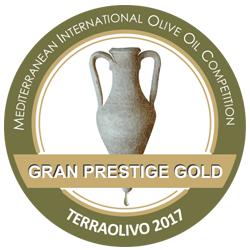 TERRAOLIVO 2017 Cortijo el Puerto Oliana, Gran Prestige Gold