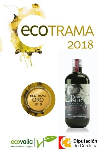 Ecotrama de Oro para nuestro AOVE Ecológico Arbosana