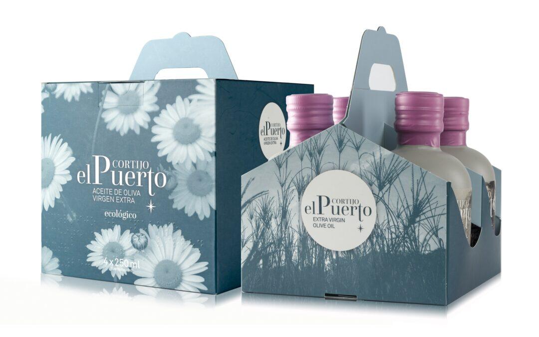 Colección Mini Granja Cortijo el Puerto: AOVE Ecológico y calidad gourmet en pack 4 x 250 ml