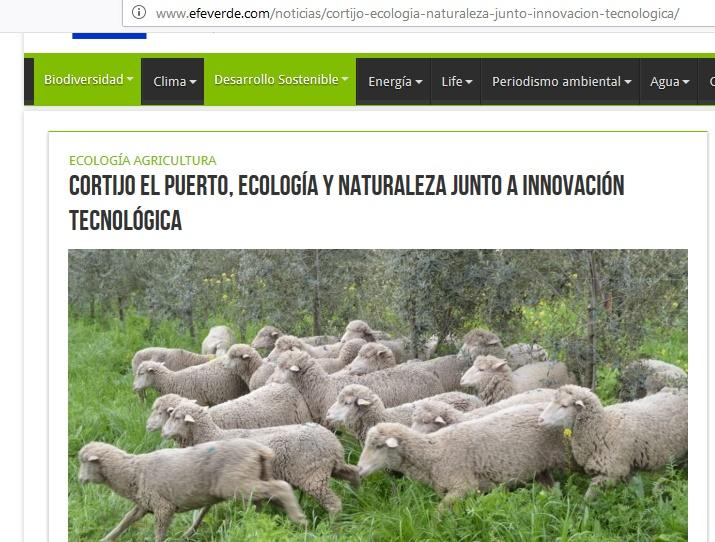 Cortijo El Puerto:  ecología y naturaleza junto a innovación tecnológica. Entrevista de EFE Verde