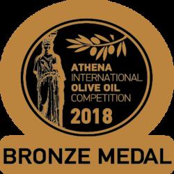 ATHIOOC 2018 Cortijo el Puerto Koroneiki, Bronze Medal