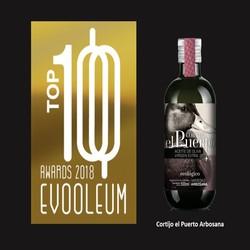 EVOOLEUM AWARDS 2018 Cortijo el Puerto Arbosana