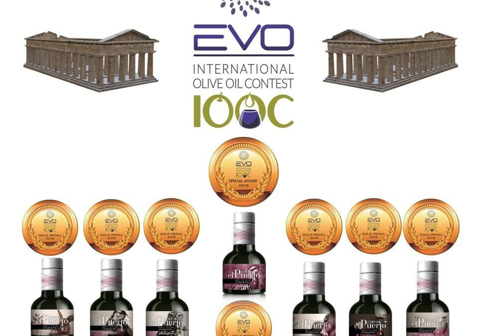 Mejor AOVE de España y 7 medallas de oro en el Concurso Internacional EVO-IOOC de Italia