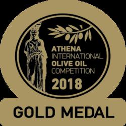 ATHIOOC 2018 Cortijo el Puerto Hojiblanca, Gold Medal