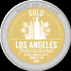 LOS ÁNGELES 2018 Cortijo el Puerto Oliana, Best of Class & Gold Medal
