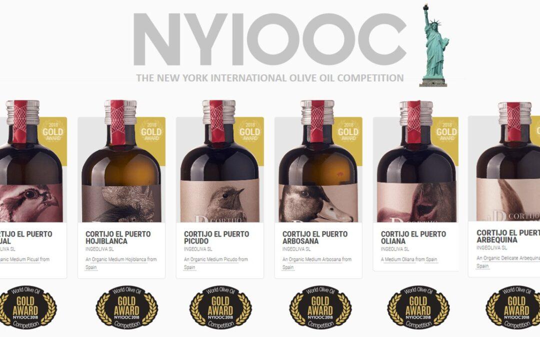 6 medallas de oro para Cortijo el Puerto en Nueva York