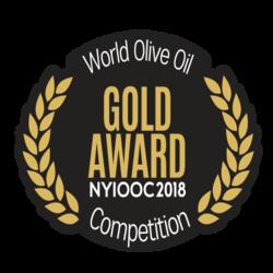 NYIOOC 2018 Cortijo el Puerto Arbequina, Gold Medal