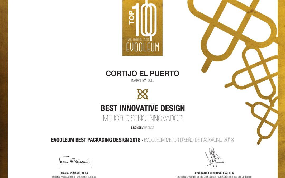 EVOOLEUM Packaging Awards premia la imagen de Cortijo el Puerto