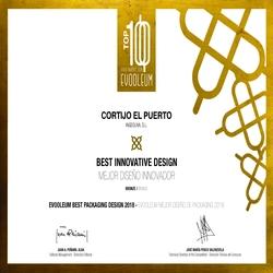 EVOOLEUM Packaging Awards 2018, Cortijo el Puerto Mejor Diseño Innovador, Bronze