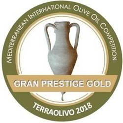 TERRAOLIVO 2018 Cortijo el Puerto Picual, Gran Prestige Gold
