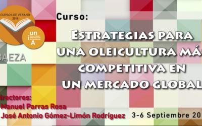 Cortijo el Puerto ponente en la UNIA: «Estrategias para una oleicultura más competitiva en un mercado global»