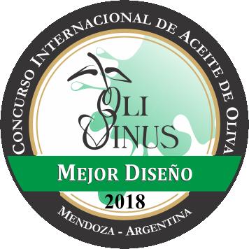 OLIVINUS 2018 Ingeoliva S.L. Premio Diseño Serie de AOVE