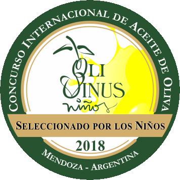 OLIVINUS 2018 Cortijo el Puerto Arbosana, Seleccionado por los Niños