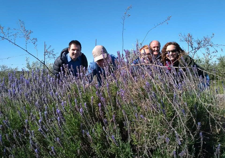 Cortijo el Puerto recibe la primavera con la visita de BIOFACH Y ECOVALIA
