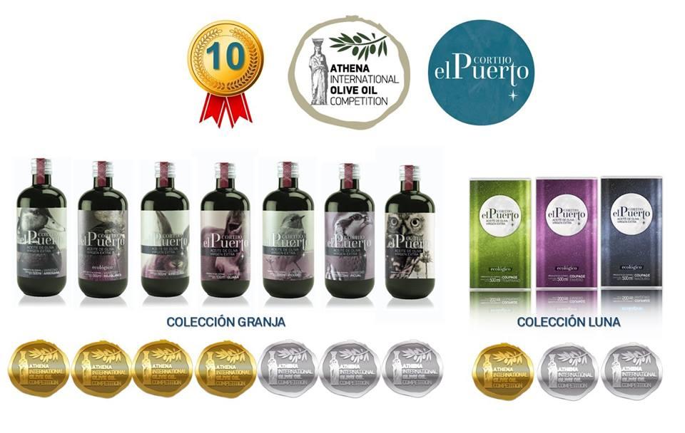 10 Medallas para Cortijo el Puerto en el ATHENA IOOC 2019 (Grecia)
