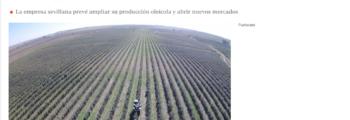 ABC: Luz verde a la almazara ecológica y sostenible de Cortijo El Puerto