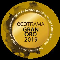 ECOTRAMA 2019 Cortijo el Puerto Coupage Envero, Gran Oro
