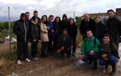 Cortijo el Puerto visitado por los alumnos Máster de Agricultura y Ganadería Ecológicas