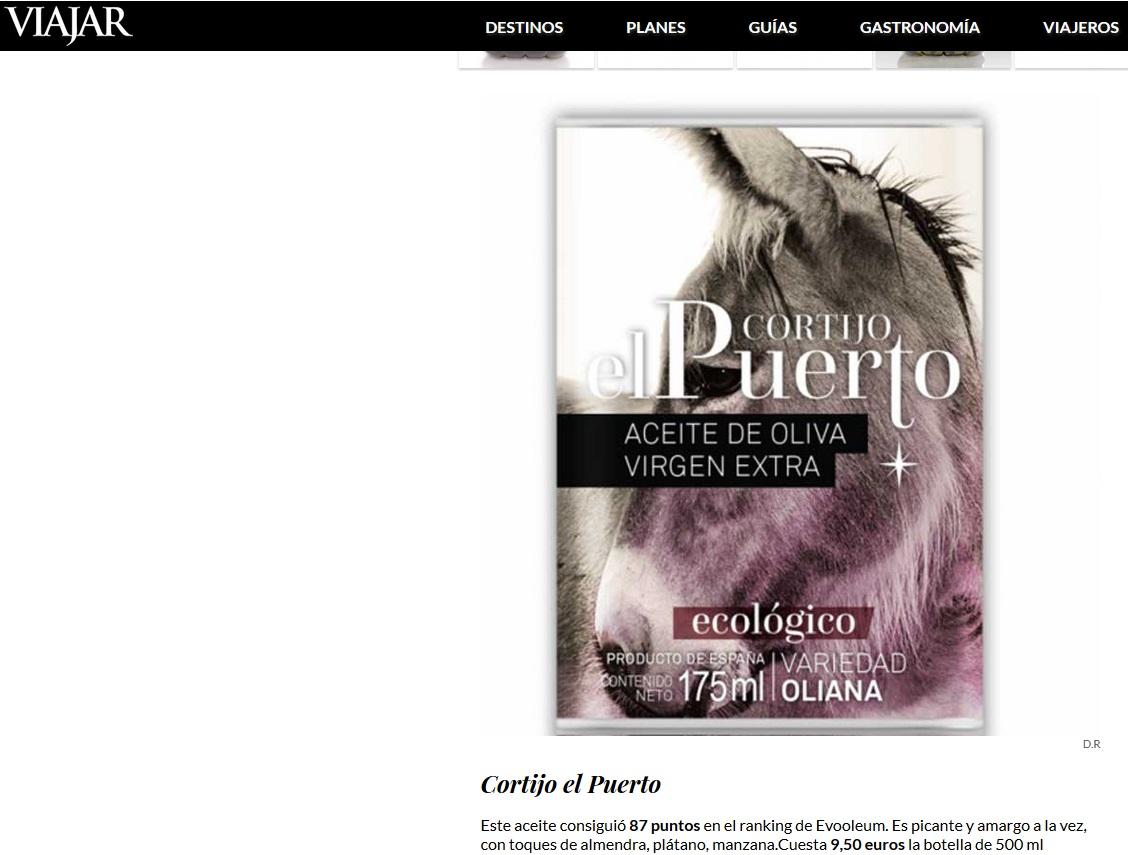 Viajar el periódico_ Cortijo el Puerto EVOOLEUM 2019