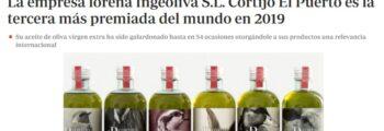 ABC: Cortijo el Puerto la tercera más premiada del mundo (EVOOWR)