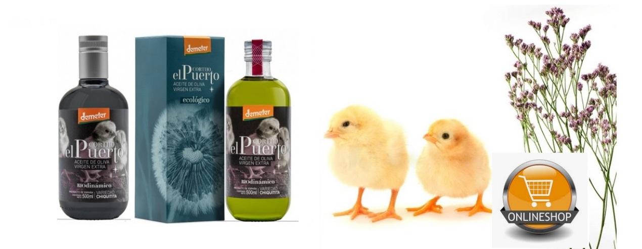 Chiquitita EN_ shop organic biodynamic olive oil Cortijo el Puerto