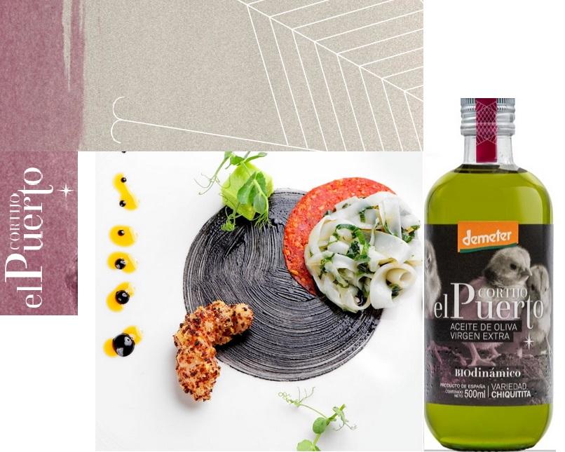 Chiquitita EN_organic biodynamic olive oil tasting pairing Cortijo el Puerto