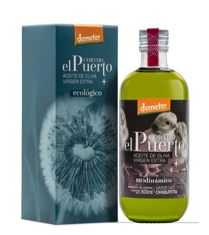 Chiquitita aceite de Oliva Ecológico y Biodinámico Cortijo el Puerto