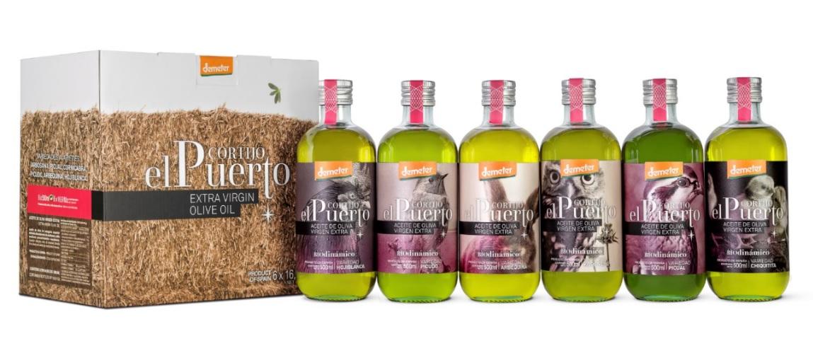 Aceite de Oliva ecológico y biodinámico Cortijo el Puerto