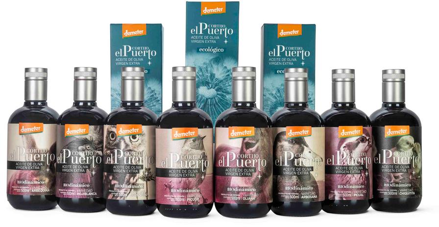 organic biodynamic extra virgin olive oil cortijo el puerto