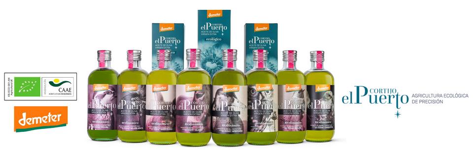 Aceite de oliva Granja ecológico y biodinámico Cortijo el Puerto