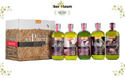 5 variedades de AOVE Ecológico y Biodinámico Cortijo el Puerto en IberOleum