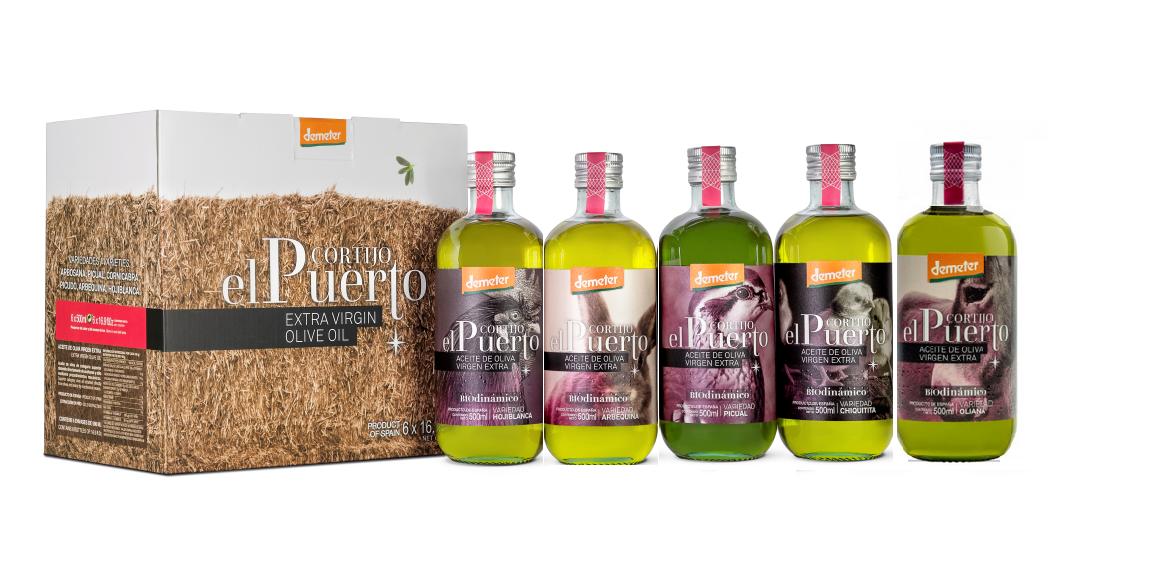 Aceite de oliva ecologico biodinamico iberoleum cortijo el puerto