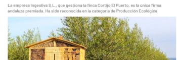 ABC_Agrónoma: Alimentos de España 2019: Premio a la finca sevillana que practica ecología tecnológica (IngeOliva_Cortijo el Puerto)