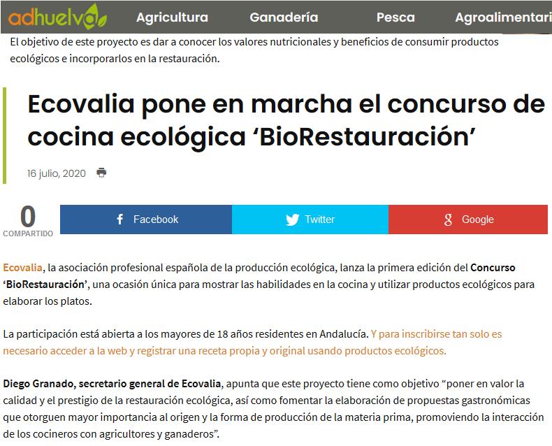 agrodiariohuelva.es_ Ecovalia pone en marcha biorestauración_16_07_2020