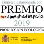 """Premio """"Alimentos de España"""" Producción Ecológica"""