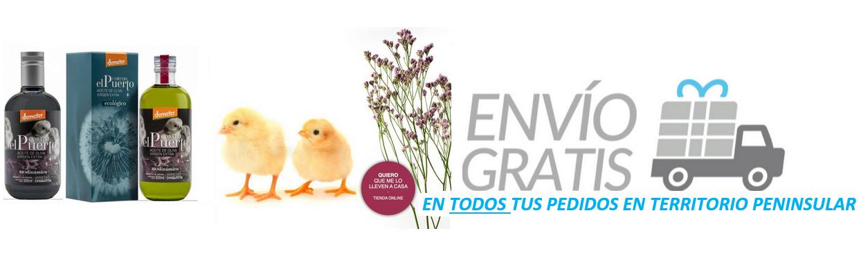 AOVE ecologico biodinamico cortijo el puerto comprar envío gratis