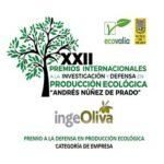 """Premio Investigación y Defensa en Producción Ecológica """"Andrés Núñez de Prado"""""""