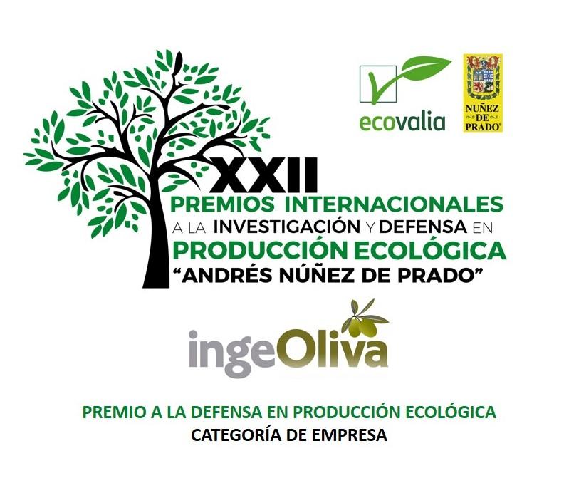 IngeOliva Cortijo el Puerto Premio Núñez de Prado mejor empresa producción ecológica