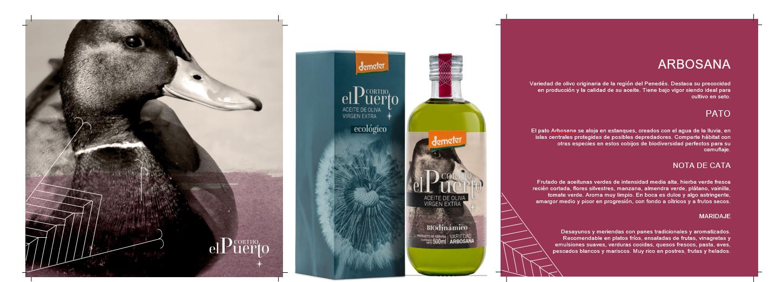 Arbosana comprar aceite de oliva ecologico biodinámico cortijo el Puerto AOVE