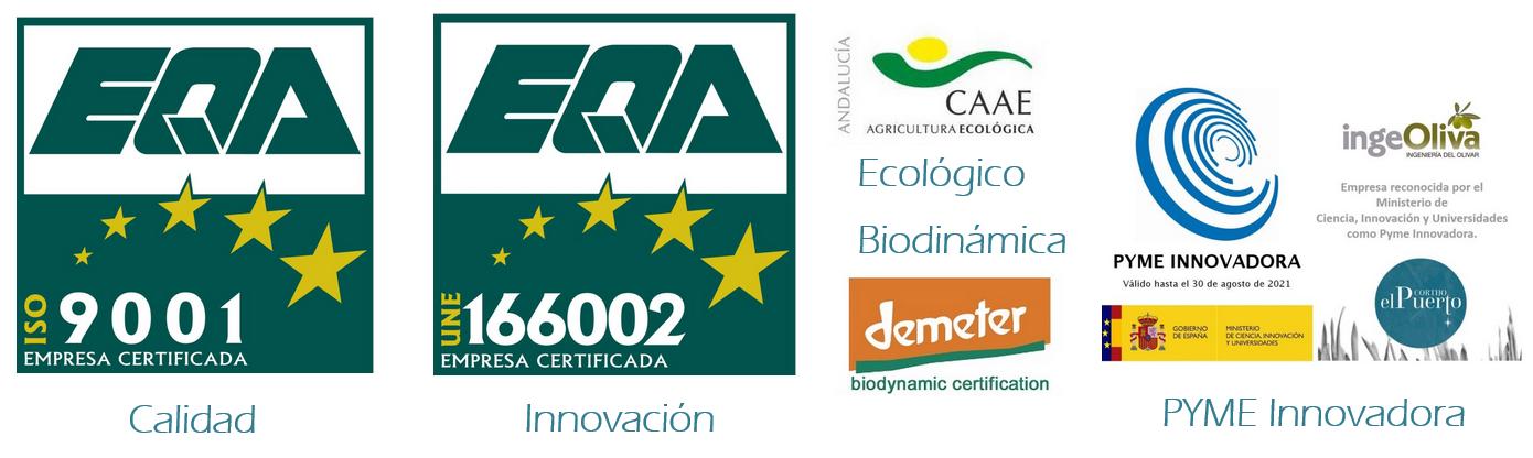 Certificaciones ecologico biodinámico demeter Calidad Innovación