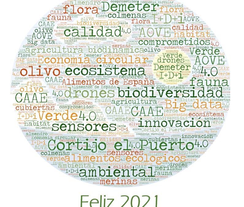 Feliz y Ecológico 2021: Una felicitación verde de Cortijo el Puerto