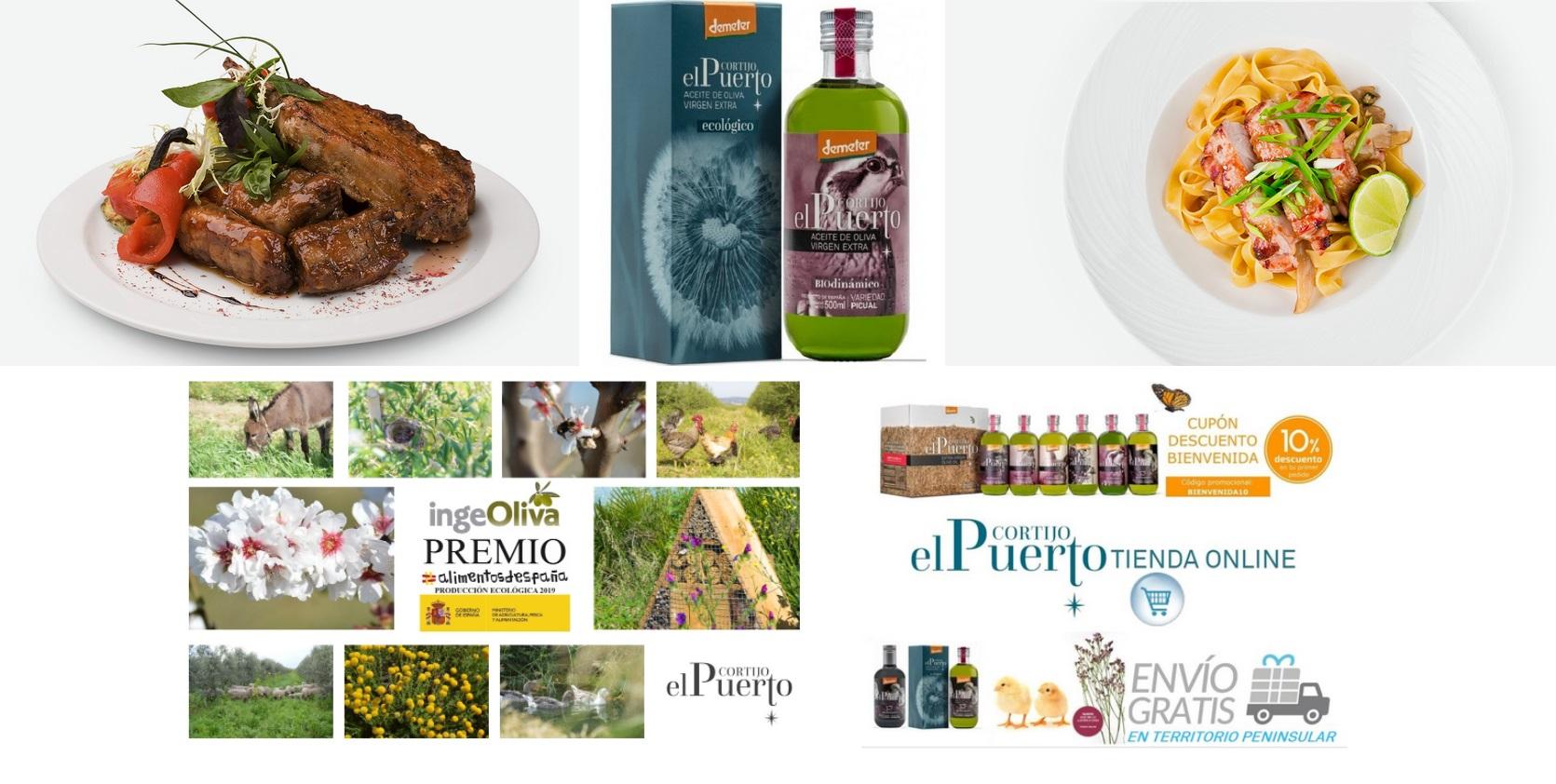 picual aceite de oliva ecologico biodinamico cortijo el puerto